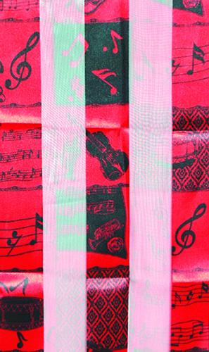 "14"" W x 60"" L  Polyester Instrument Scarf"