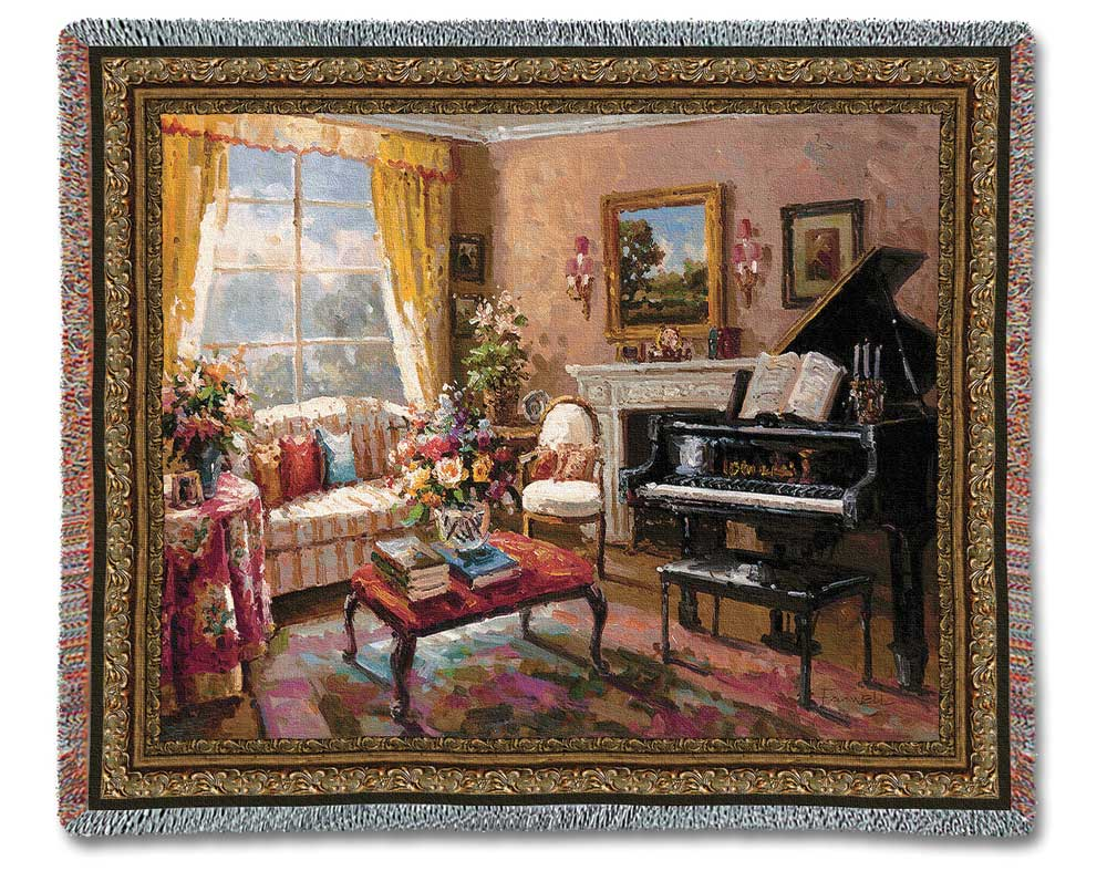 Buy The Music Room Tapestry Wall Hanging Music Gift