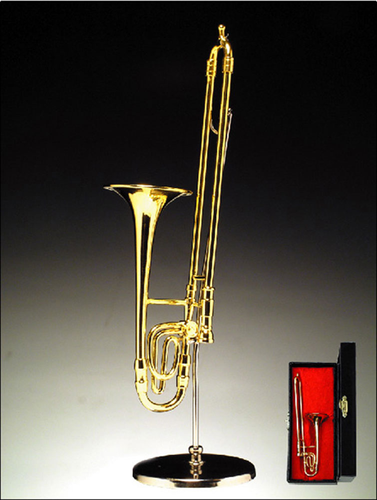 Buy Trombone Miniature Awards Trophies Mini