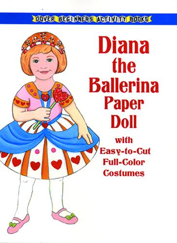 "1 doll/ 4 costume changes 8.25"" x 11"""