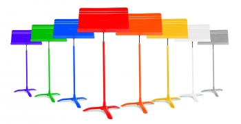 Symphony Music Stand- Now in Color-We are excited to be able to now offer the MS48 music stand in your choice of colors. Not only do we have stock colors of Red; Blue; Green; Purple; Orange; Yellow; White and Grey but we can do custom colors too. This mea