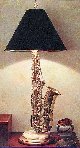 Saxophone Lamp As Your Own Family Home Equipments Along