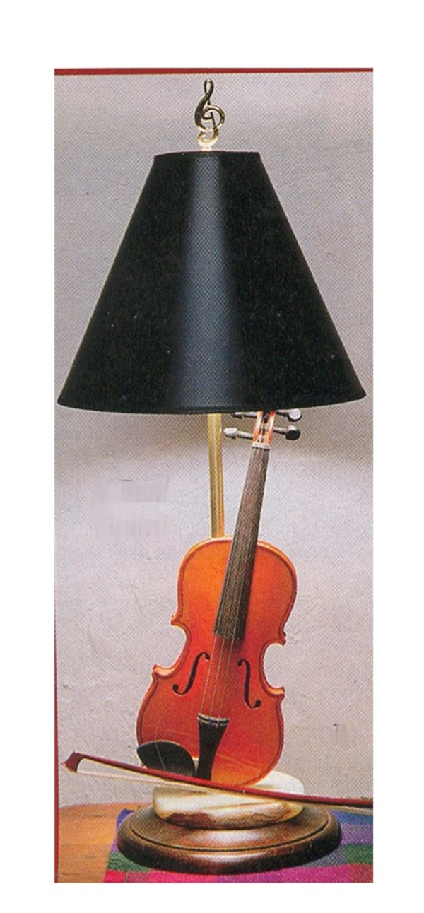 Buy Violin Table Lamp Music Gift Music Furniture