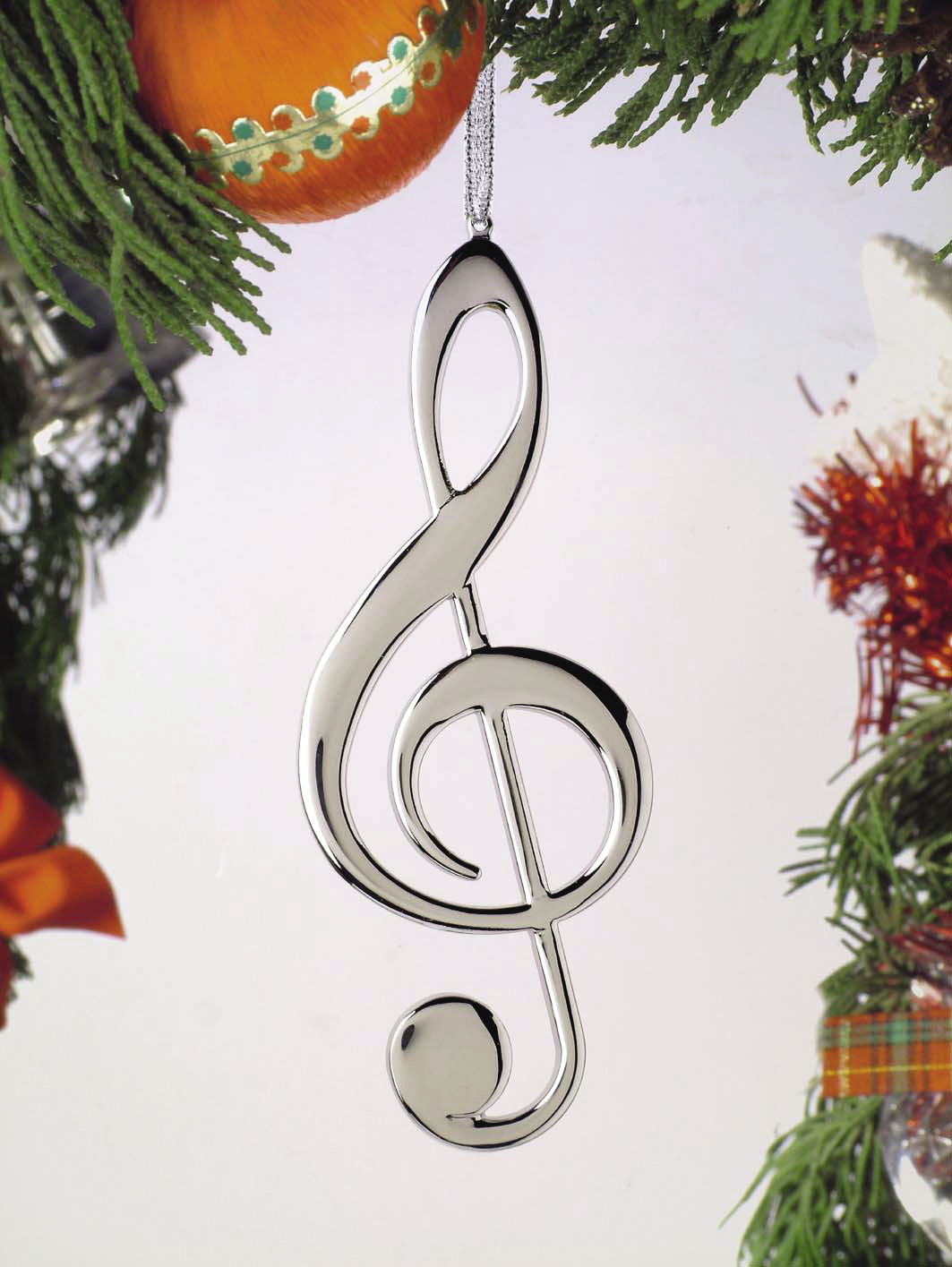 buy treble clef christmas ornament music gift christmas music ornaments