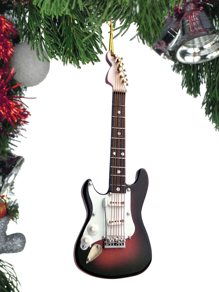 Buy Electric Guitar Christmas Ornament | Music Gift | Christmas ...