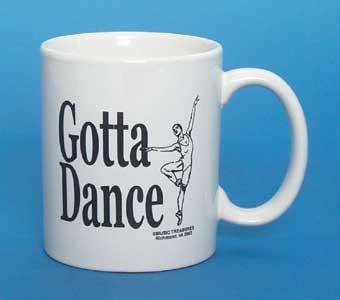 11 oz. Ceramic Coffee mug with imprinted logo on both sides
