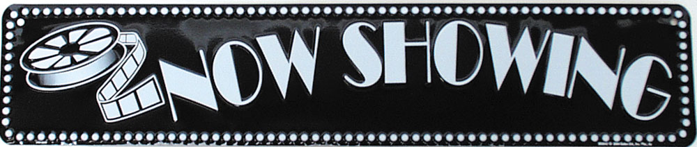 Now Showing Theatre Sign Theatre Sign o Now Showing