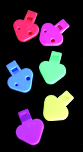 """Triangle Whistle 2"""" Colors Vary"""