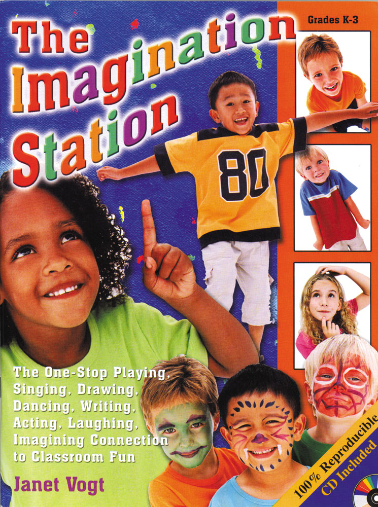 The One-Stop Playing; Singing; Drawing; Dancing; Writing; Acting; Laughing; Imagining Connection to Classroom Fun    This delightful collection includes ten jam-packed units of unique; creative and diverse possibilities for fun. Get students up and movin