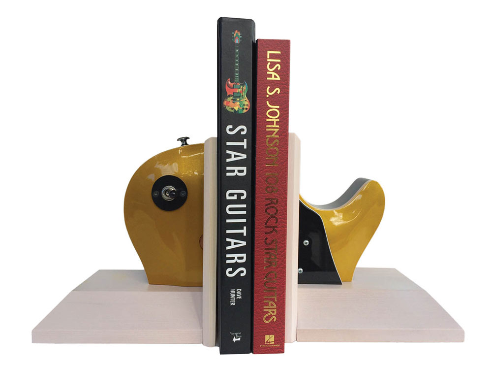 Buy Goldtop Guitar Bookends Music Stationery Music