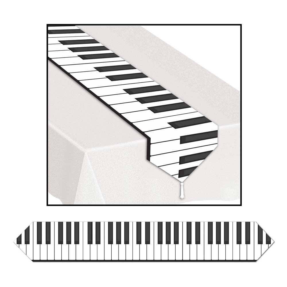 Buy Printed Piano Keyboard Table Runner Music Gift