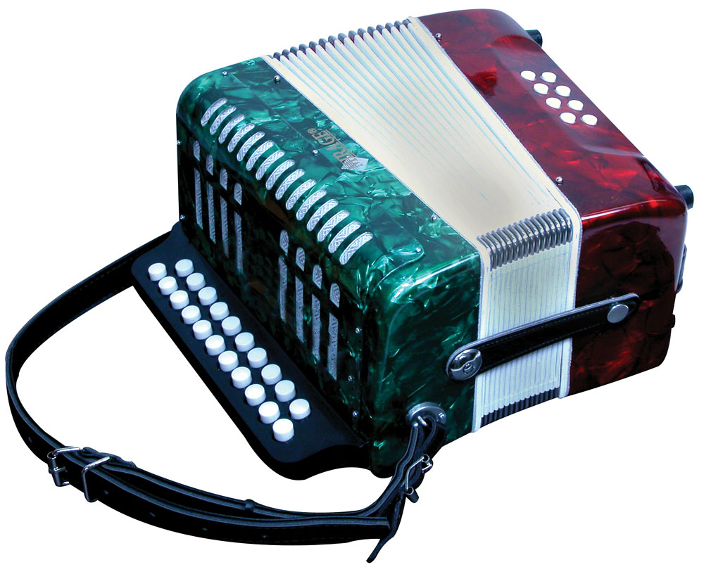 buy mirage mexican flag color diatonic button accordion music