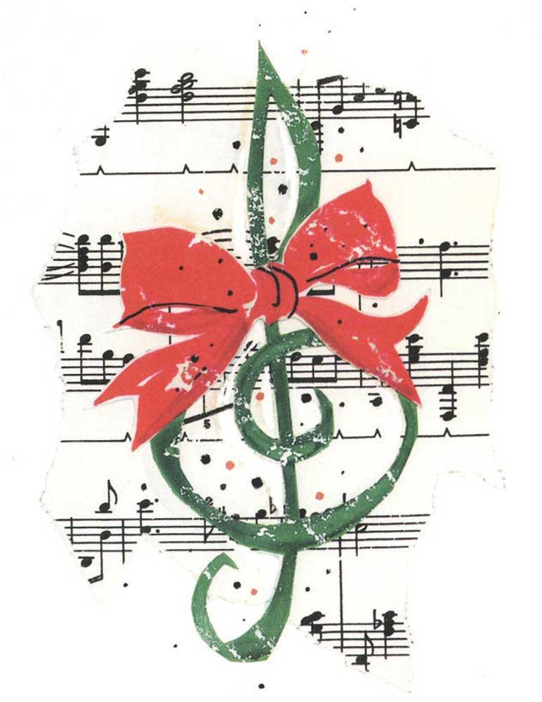christmas music with guitar
