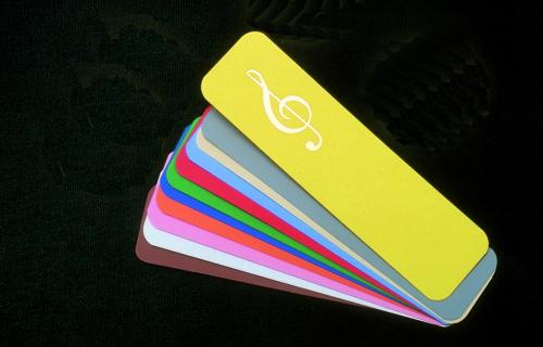 Buy G Clef Plastic Bookmarks Music Stationery Music