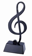 Black Treble Clef with Base