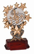 Starburst Music Trophy