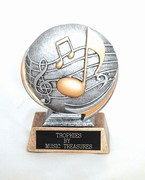3D Music Throphy