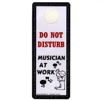 Do Not Disturb / Laminated Door Hanger