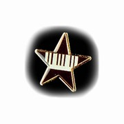 Music pin and brooches, guitar pins, piano pins, instrument pins from Music Treasures Co. make great gifts.  We have a variety of music pins to make your outfit snappy!