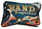 Musicians Band Together Pillow