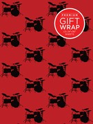Drumset Theme Wrapping Paper