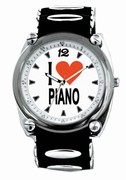 MAGA I LOVE PIANO WATCH