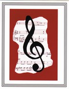 Music greeting cards range from inspired Christmas cards, a dance selection  and specialty music inspired designs. The entire Music Collection can be personalized with an inside message for recitals, holidays, family greeting or a more professional look to your musical greetings.