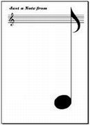 Music Notepads come in several styles:  bound, mini, pads and sets.  These are useful notepades that make good music gifts.  Our music sets are a Music Treasures exclusive!