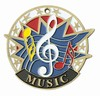 Music USA Award Medal
