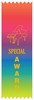 Piano Special Award Ribbon - Multicolor (pack of 10)
