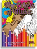 Colors of Music Adult Coloring Book