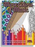 More Colors of Music Adult Coloring Book