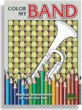 Color My Band Adult Coloring Book