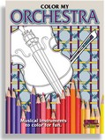 Color My Orchestra Adult Coloring Book