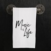 Music Is Life Towel